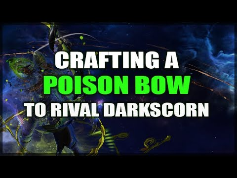 PATH of EXILE: Crafting a Poison Bow to Rival Darkscorn (Guide & Highlights) 3.9