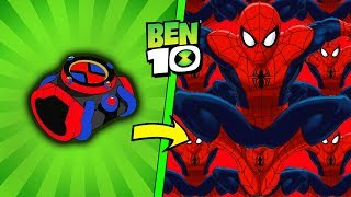 EL OMNITRIX DE SPIDERMAN EN BEN 10 EN ROBLOX | ARRIVAL OF ALIENS BEN 10 ROBLOX