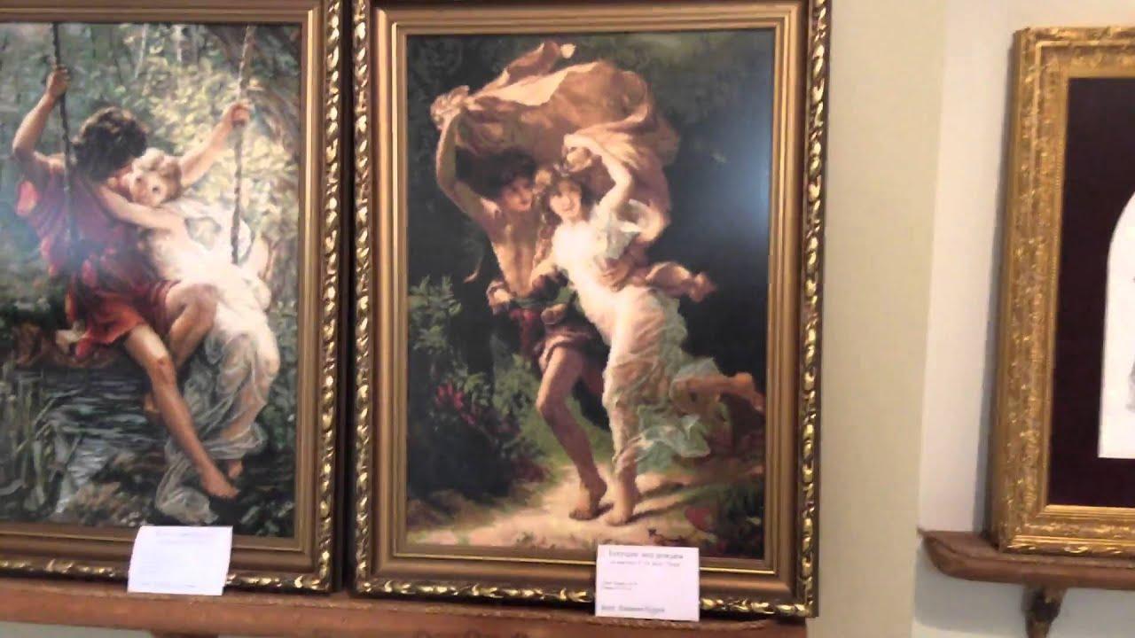 Выставка вышивка картин