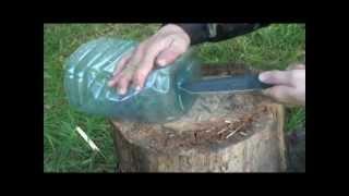 ШОК!! Уроки выживания видео о ловушке для рыбы 2013