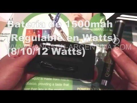 Presentación de Kit QUAKE 1500mah Dual Coil (BDC) - HANGSEN ARGENTINA