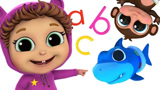 ABC SONG and MORE Songs! | Top 10 Videos | Baby Joy Joy on Clap Clap Baby