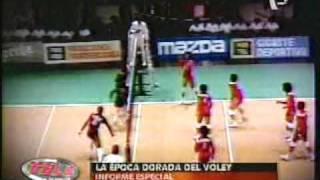 VOLEIBOL PERUANO EPOCA DORADA 1982