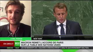 «Macron a fait jusqu'à maintenant, le contraire de ce qu'il raconte à la tribune»