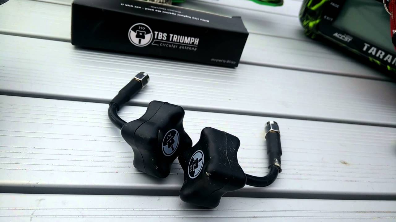 testing tbs triumph antennas vs blacktops - youtube