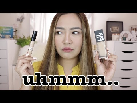 BLK FOUNDATION AND CONCEALER?! | SUBUKANNE