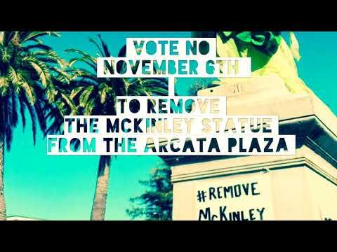 """Measure M """"NO"""" McKinley Statue VOTE November 6th"""