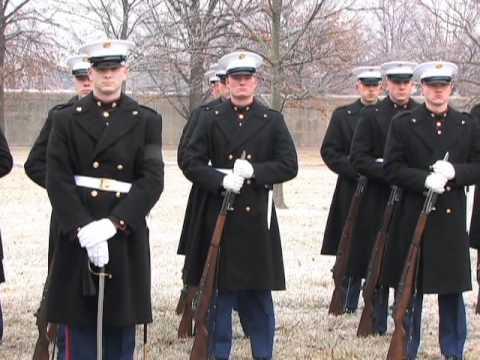 Marine Lance Cpl. Sam Htaik burial at Arlington National Cemetery