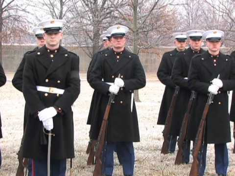 Marine Lance Cpl. Sam Htaik burial at Arlington National Cemetery