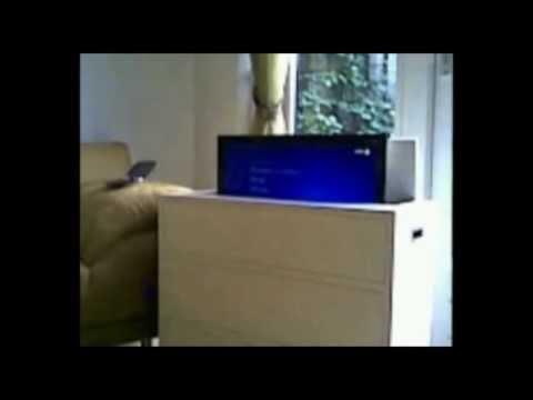 ... Mensen Met Weinig Ruimte Verrijdbaaar TV Meubel Met LCD Of LED Tv Lift