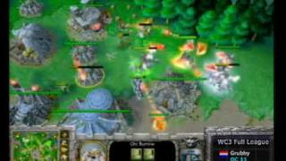 2006 Grand Final cyberspace 2  Warcraft III match: Grubby(NET) vs dAvY(SUI) High