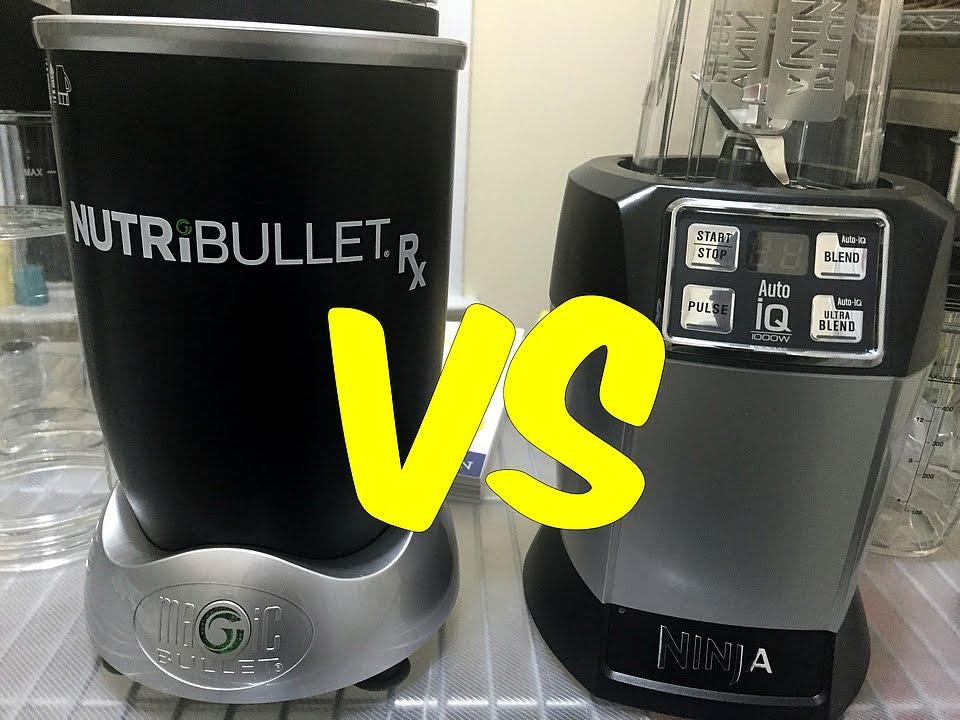 Nutribullet rx vs nutri ninja auto iq youtube