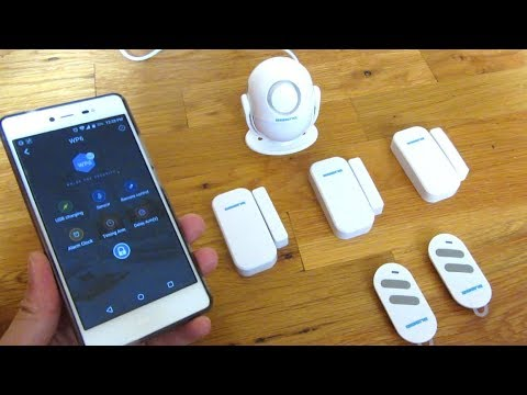 BIBENE WiFi Home Security | WP6 Android Smart App Features Demo