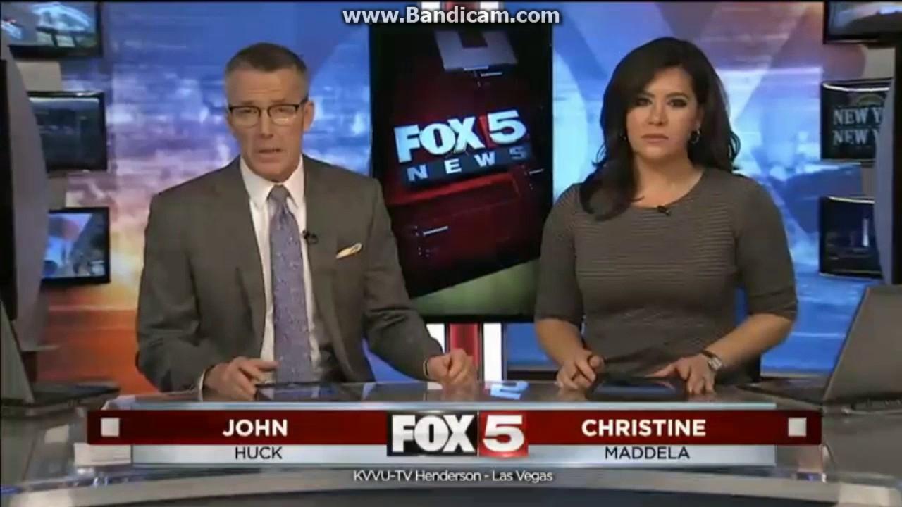 KVVU Fox 5 News at 5pm open February 6, 2017