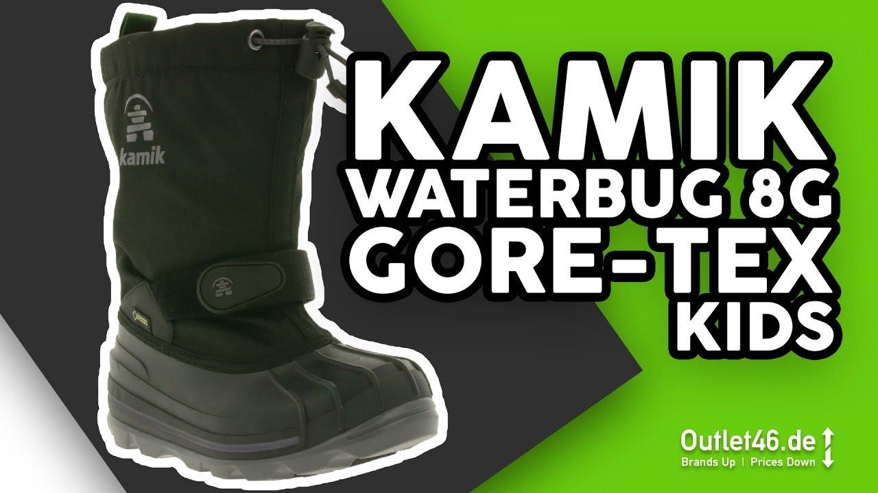 Großbritannien heiß-verkauf echt beliebt kaufen Kamik Waterbug8 Gore-Tex Kinder Winterstiefel DEUTSCH l Review l Haul l  Overview l Outlet46
