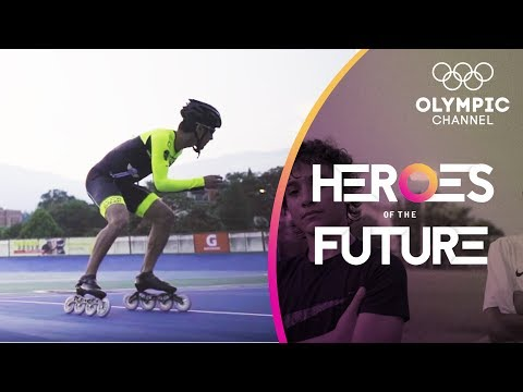 Meet South America's fastest 17-year-old on roller Speed Skates | Heroes of the Future