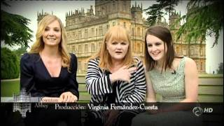 [Making of] Saludo de los actores de Downton Abbey en español