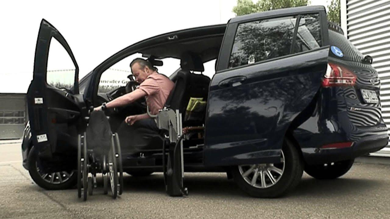 behindertengerechte autos der ford b max mit. Black Bedroom Furniture Sets. Home Design Ideas