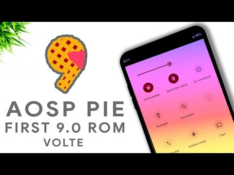 Aosp Pie - First Android 9 Pie Custom Rom - YouTube