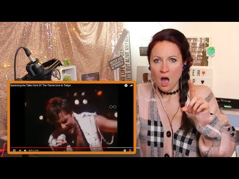Vocal Coach REACTS to QUEENSRYCHE - Take Hold Of The Flame  in Tokyo