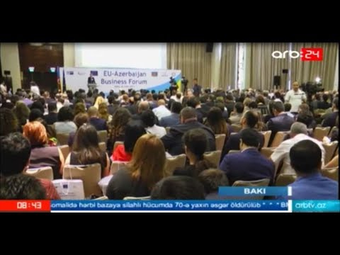ARB TV - News on the EU-Azerbaijan Business Forum 2017