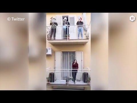 Coronavirus - Les Italiens chantent sur leurs balcons, et vous ?