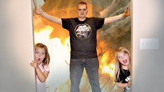 EXPLOSION with Uncle Derek! Hide and Seek Game
