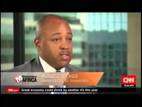 President and CEO of GE Transportation, Russell Stokes, on CNN