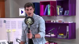 Violetta 2 - Diego canta Yo Soy Así en la audiencia