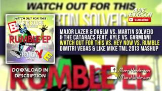 [2K Subs.] Major Lazer & DV&LM - Watch Out For This vs. Hey Now vs. Rumble (DV&LM TML 13 M ...