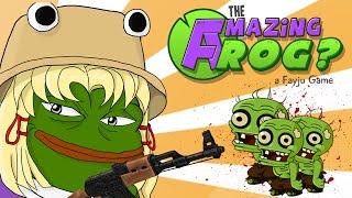 MISTERIO EN LAS ALCANTARILLAS! - The Amazing Frog? (Ranas Zombie,  AK47) | Ep #2