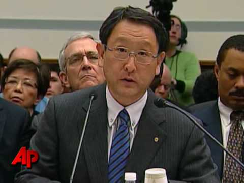 Toyota CEO Apologizes for Recall, Accidents