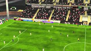 Video Gol Pertandingan Stade Rennes vs AS Monaco