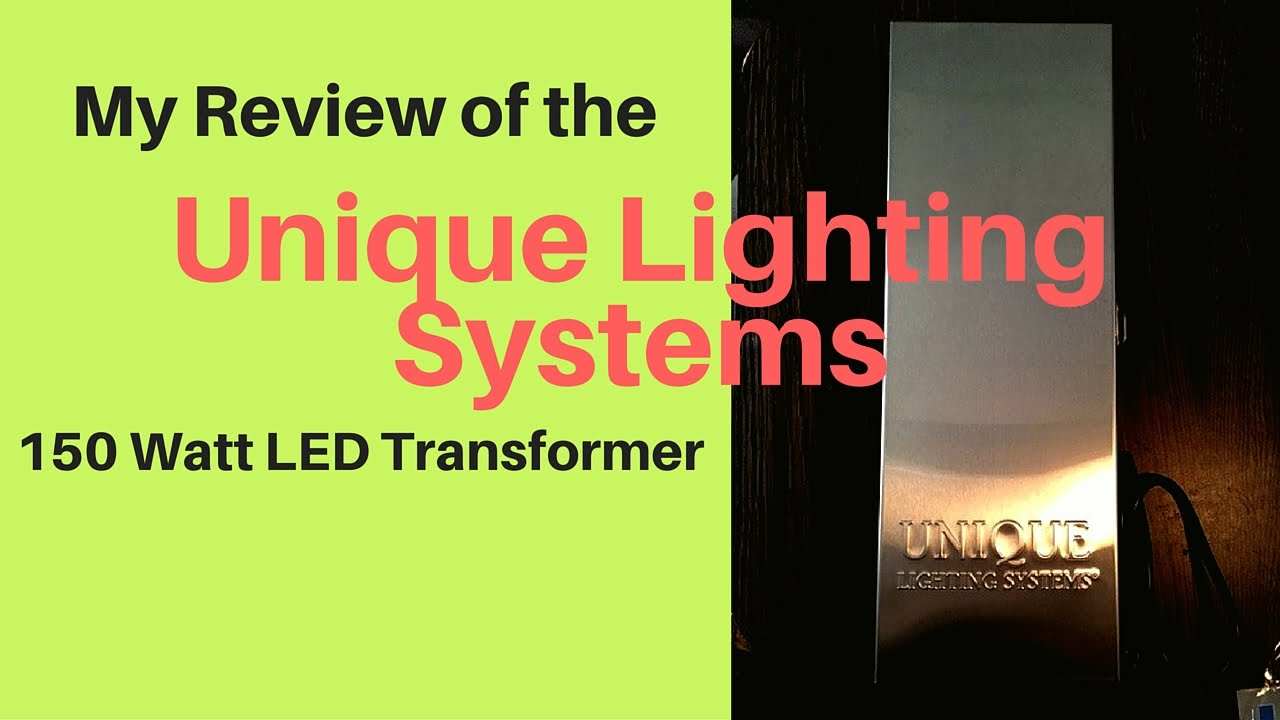 Unique 150 Led Transformer Youtube