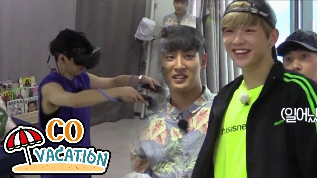 Download [Co-Vacation: Xiumin & Daniel] Xiumin's Completely Lost In VR Game 20170910