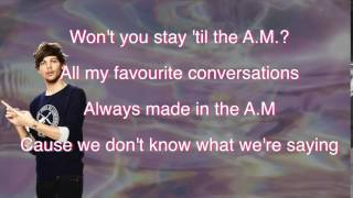A.M. one direction .letra