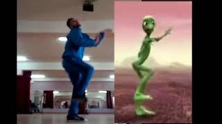 Mort de rire kabyle ! Ce jeune de béjaia  fait le Dancing Alien Challenge