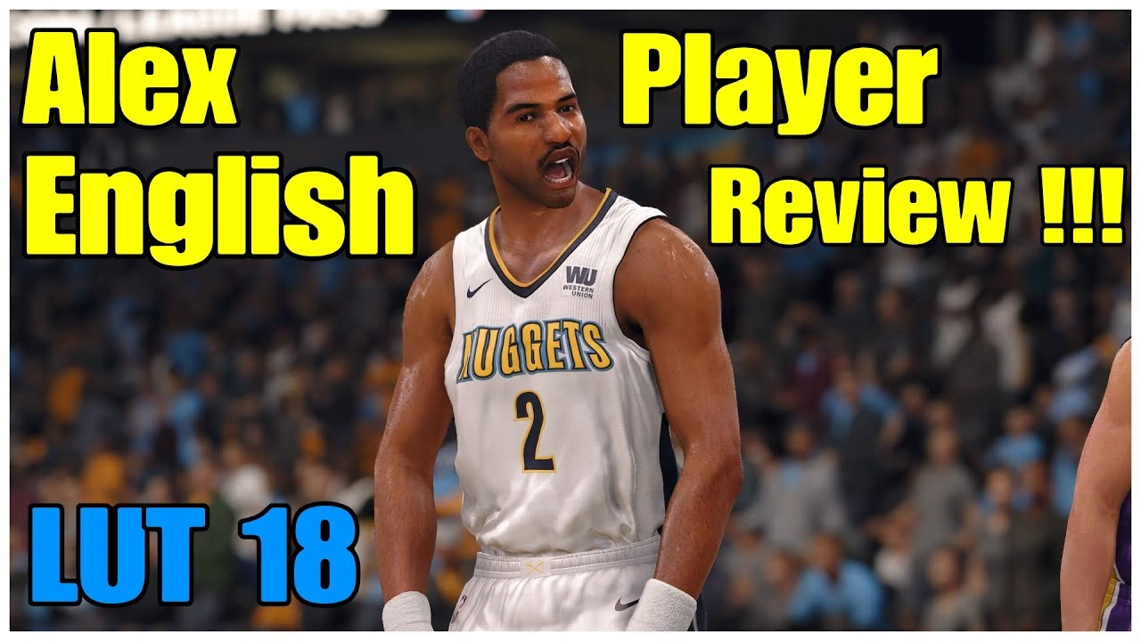 LUT Nba Live 18 Alex English Player Review Gameplay
