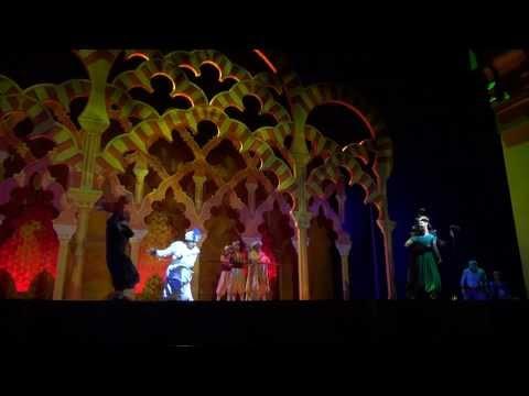 Disney's Aladdin A musical Spectaclar 2013 California Adventure