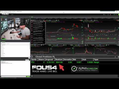 $9,000 in 5 Minutes day Trading Penny Stocks for +54% Gain !