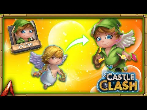 Unlocking The Cupid Skin! Castle Clash
