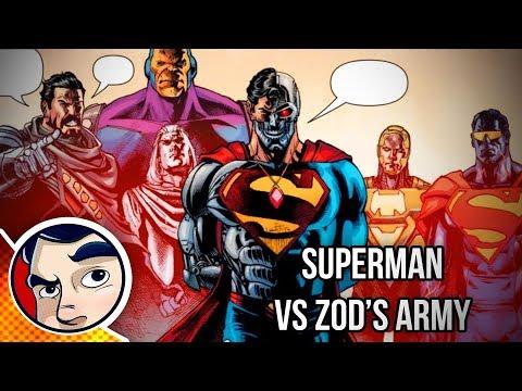 "Superman Vs General Zod ""Revenge"" - Rebirth Complete Story"