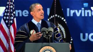 Obama Speech To UC Irvine Grads - Full Video