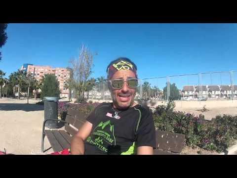 activacion previo a la media maraton de cartagena