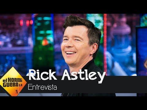 Rick Astley, sobre su retirada: Fue como impactar contra una pared de ladrillo - El Hormiguero 3.0
