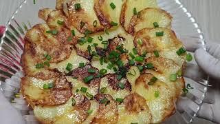 Беру 2 картошки 1 лук за 10минут Даже остыт не успеет Быстрый Бюджетный и вкусный ужин или обед