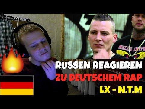 RUSSIANS REACT TO GERMAN RAP   LX - N.T.M (Jambeatz)   REACTION TO GERMAN RAP