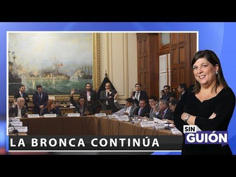 La bronca continúa - Sin Guion con Rosa María Palacios