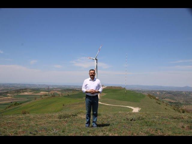 Başkanımız Alp KARGI, Rüzgar Enerjisi Projemiz Hakkında Açıklamada Bulundu