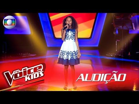 Vitória Carolina canta 'Domingo de Manhã'  na Audição – The Voice Kids Brasil | 2ª Temporada